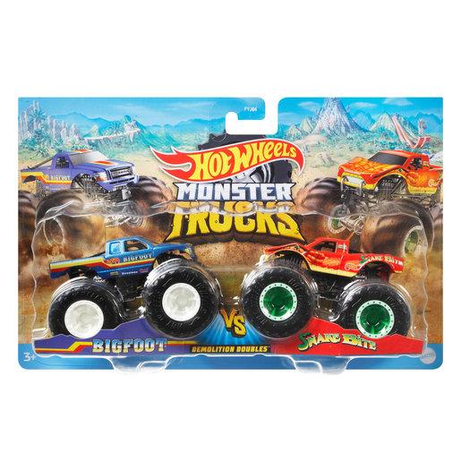 Hot Wheels Monster Trucks - Bigfoot VS. Snake Bite