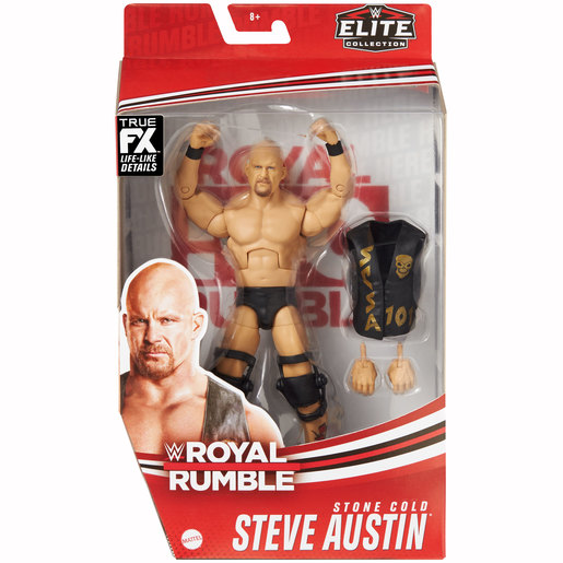 WWE Royal Rumble Elite Collection Action Figure - Steve Austin