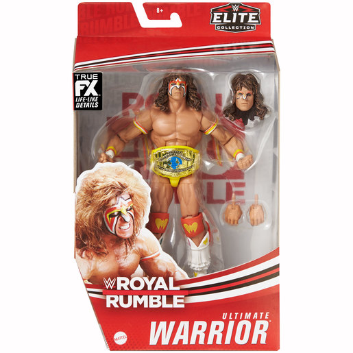 WWE Royal Rumble Elite Collection Action Figure - Ultimate Warrior