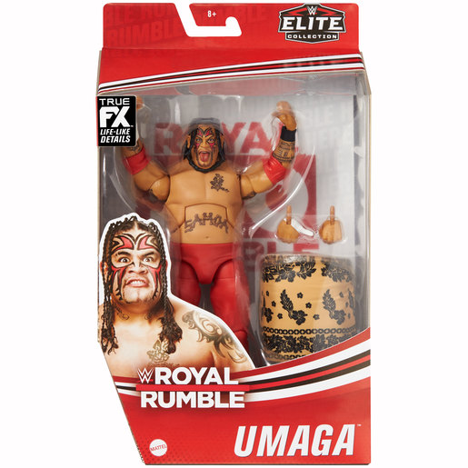 WWE Umaga Royal Rumble Elite Collection Action Figure