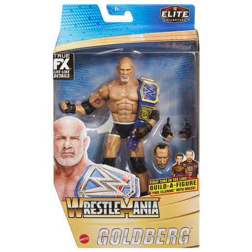 WWE WrestleMania Action Figure - Goldberg from TheToyShop