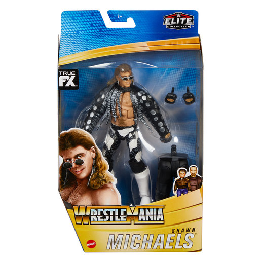 WWE WrestleMania Action Figure - Shawn Michaels