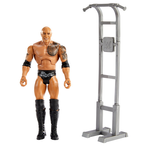 WWE Wrekkin Action Figure - The Rock
