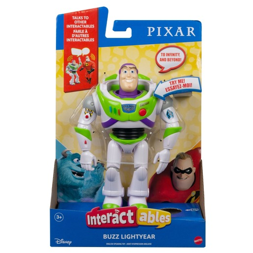 Disney Pixar Toy Story Interactables Figure - Buzz Lightyear