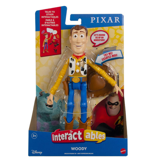 Disney Pixar Toy Story Interactables Figure - Woody