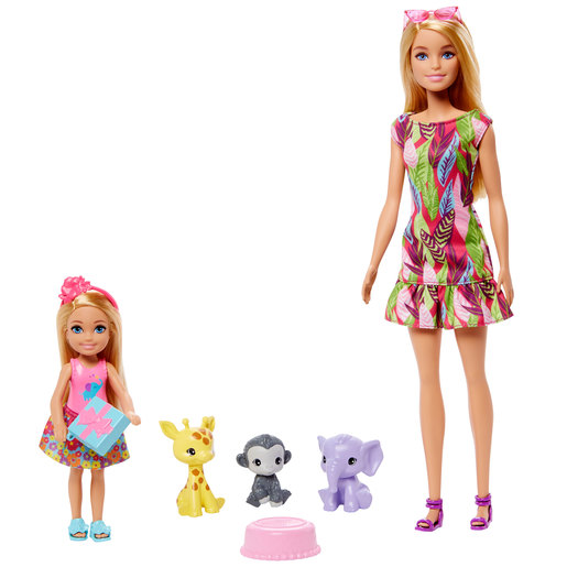 Barbie and Chelsea 'The Lost Birthday' Dolls and Pets Figures