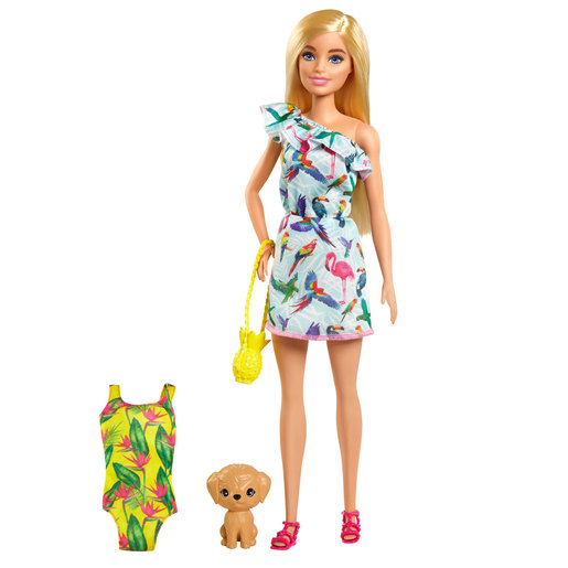 Barbie and Chelsea The Lost Birthday Doll & Accessories - Tropical Dress