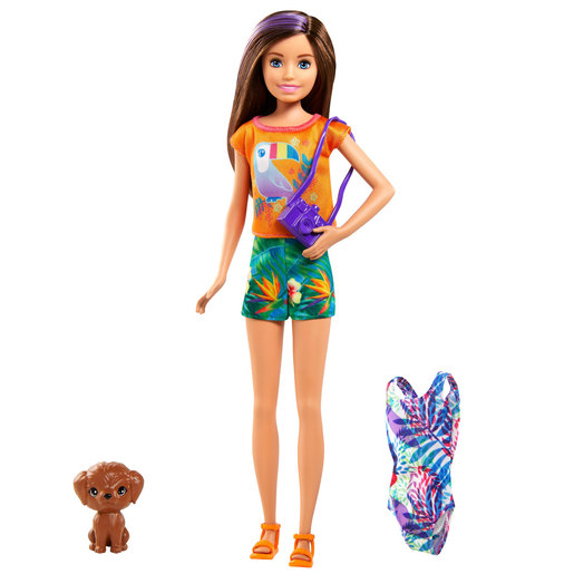 Barbie and Chelsea The Lost Birthday Doll & Accessories - Tropical Short Set