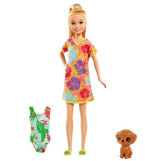 Barbie and Chelsea The Lost Birthday Doll & Accessories - Flower Beach Dress