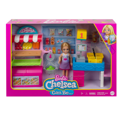 Barbie and Chelsea 'Can Be' Playset