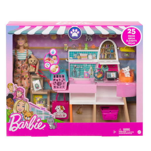 Barbie Doll 'Pet Grooming' Playset