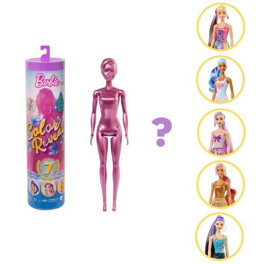 Barbie Colour Reveal Doll - Series 7 (Styles Vary)