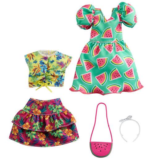 Barbie Doll Fashion Pack   Watermelon Dress & More