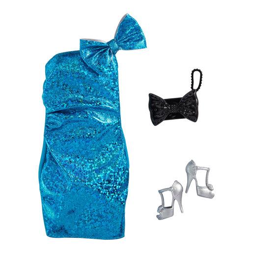 Barbie Fashion Accessories   Blue Evening Dress