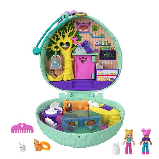 Polly Pocket Playset 'Hedgehog Cafe' Compact