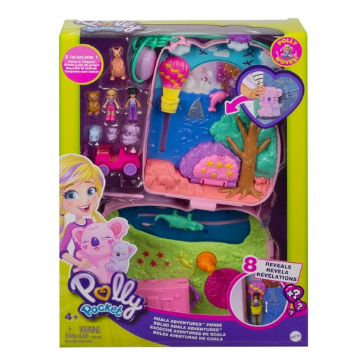 Polly Pocket Playset 'Koala Adventures Purse' Compact