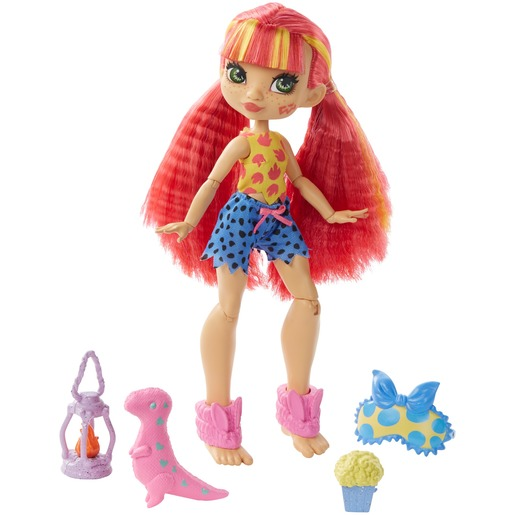 Cave Club Rock 'N' Wild Sleepover & Emberly Doll