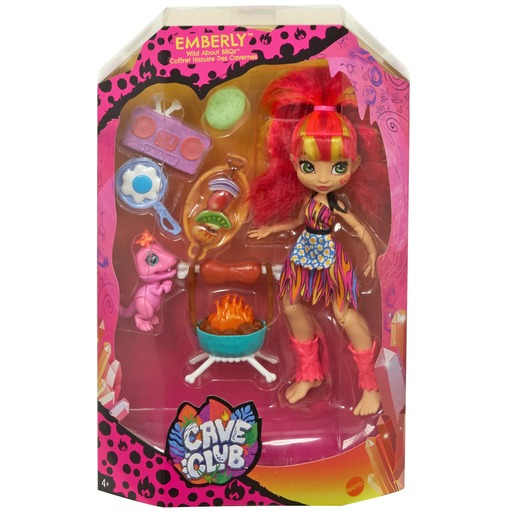 Cave Club 'Wild About BBQs' Playset & Emberly Doll