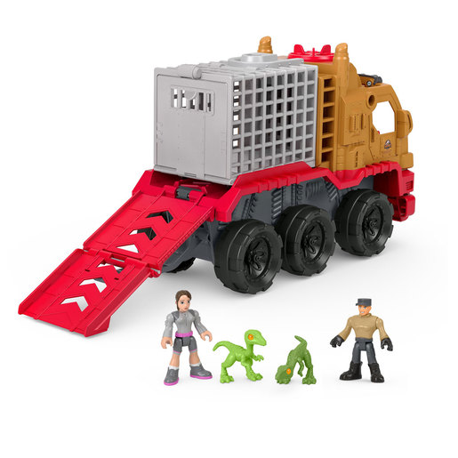 Imaginext Jurassic World Camp Cretaceous Dinosaur Hauler & Yaz