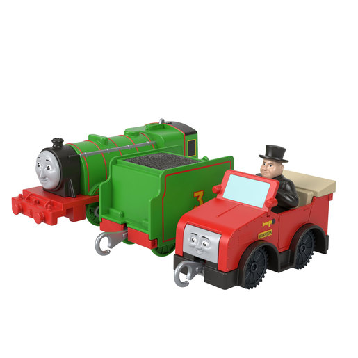 Fisher-Price Thomas & Friends Henry, Winston, Sir Topham Hatt