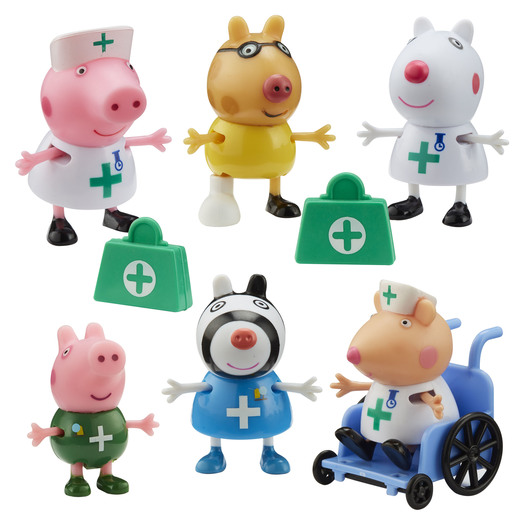Peppa Pig - Doctors & Nurse Figures