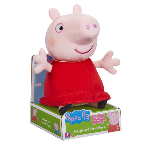 Peppa Pig - Talking Giggle & Snort Peppa
