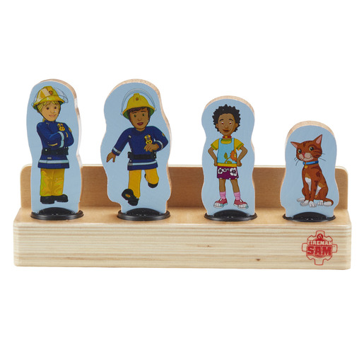 Fireman Sam Four Figure Pack