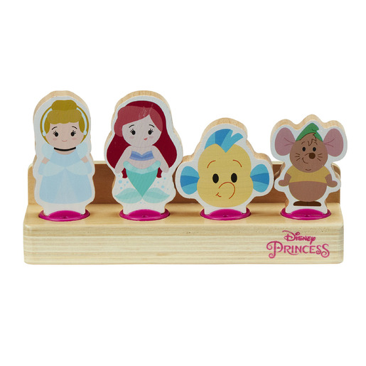 Disney Princess Wooden Figure Set (Styles Vary)