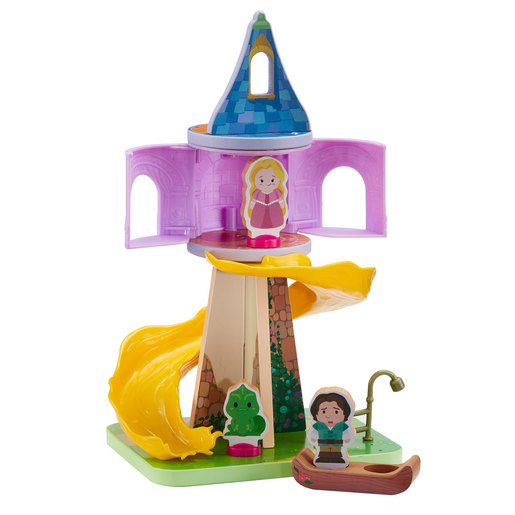 Disney Princess Wooden Rapunzell Playset
