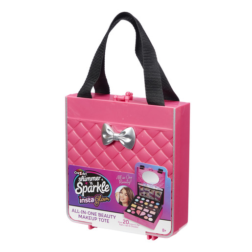 Shimmer N' Sparkle InstaGlam - All in One Beauty Makeup Pink Tote from TheToyShop