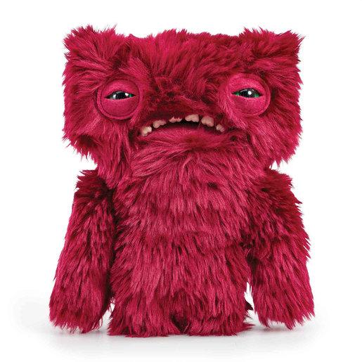 Fuggler 22cm Funny Ugly Monster - Wide Eyed Weirdo Red Furry