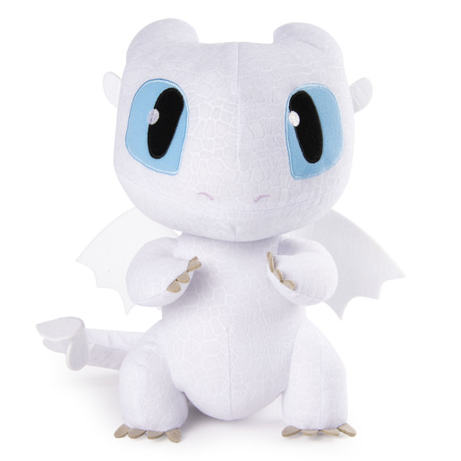 DreamWorks Dragons, Squeeze & Growl 25cm Plush - Lightfury