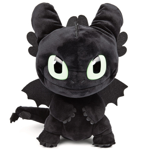 DreamWorks Dragons, Squeeze & Roar 27.9 cm Plush - Toothless
