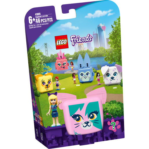 LEGO Friends Stephanie's Cat Cube - 41665