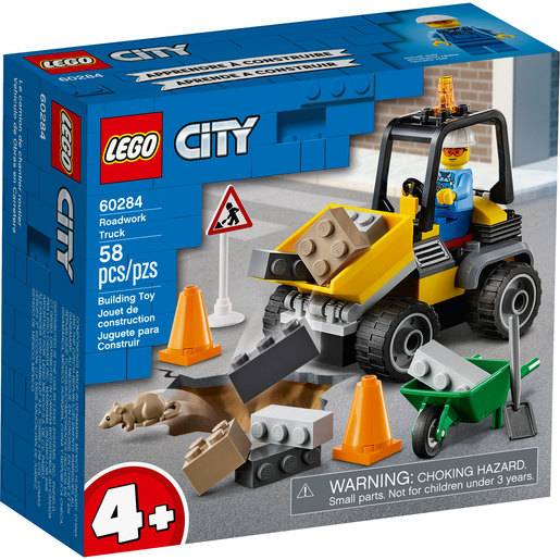 LEGO City Roadwork Truck - 60284