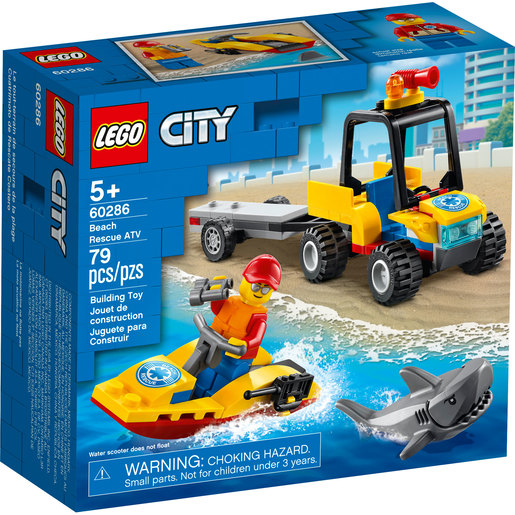 LEGO City Beach Rescue ATV - 60286