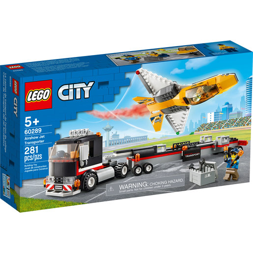 LEGO City  Airshow Jet Transporter - 60289