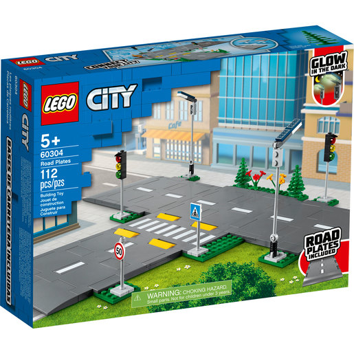 LEGO City Town Road Plates - 60304