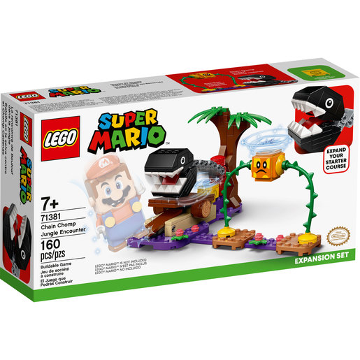 LEGO Super Mario Chain Chomp Jungle Encounter Expansion Set - 71381