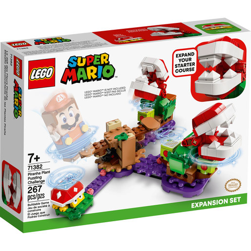 LEGO Super Mario Piranha Plant Puzzling Challenge Expansion Set - 71382