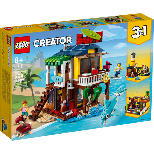 LEGO Creator Surfer Beach House - 31118