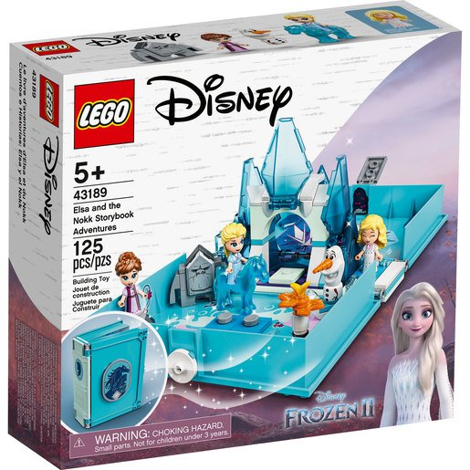 LEGO Disney Princess Elsa and the Nokk Storybook Adventures - 43189