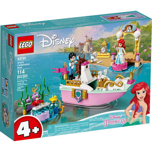 LEGO Disney Princess Ariel's Celebration Boat - 43191