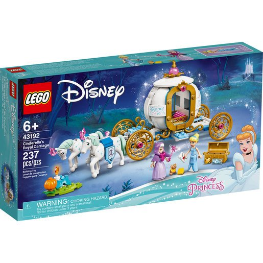 LEGO Disney Princess Cinderella's Royal Carriage - 43192