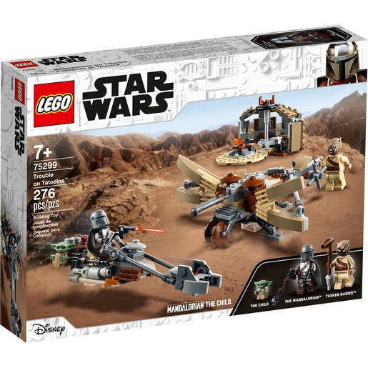 LEGO Star Wars Trouble on Tatooine Set - 75299