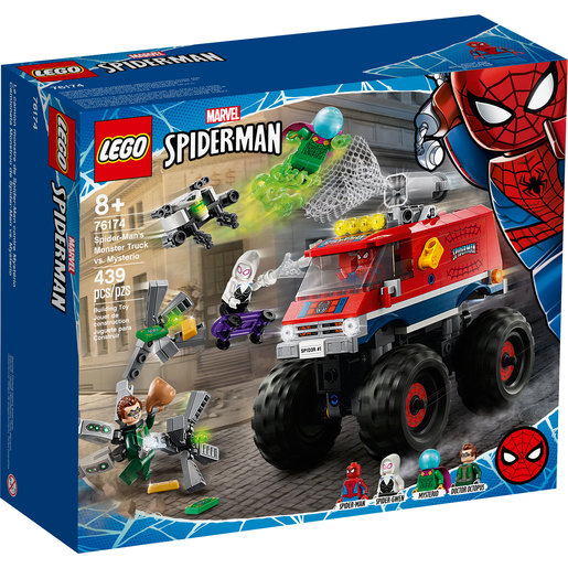 LEGO Marvel Spider-Man: Spider-Man's Monster Truck VS. Mysterio