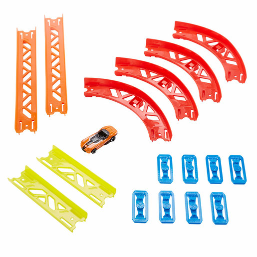Hot Wheels Track Builder Unlimited Premium Curve Playset