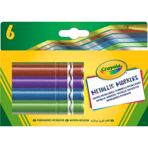 Crayola 6 Metallic Markers