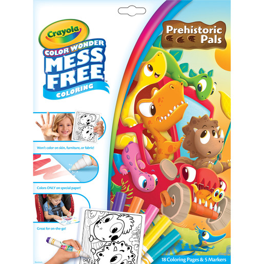 Color Wonder Mess Free Colouring - Pre-Historic Pals