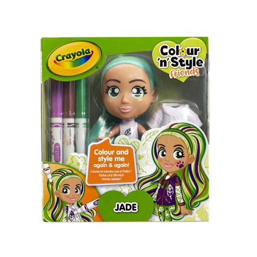 Crayola Colour n Style Friends Doll - Jade